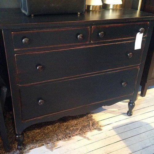 And another one. Black dresser for sale $600.