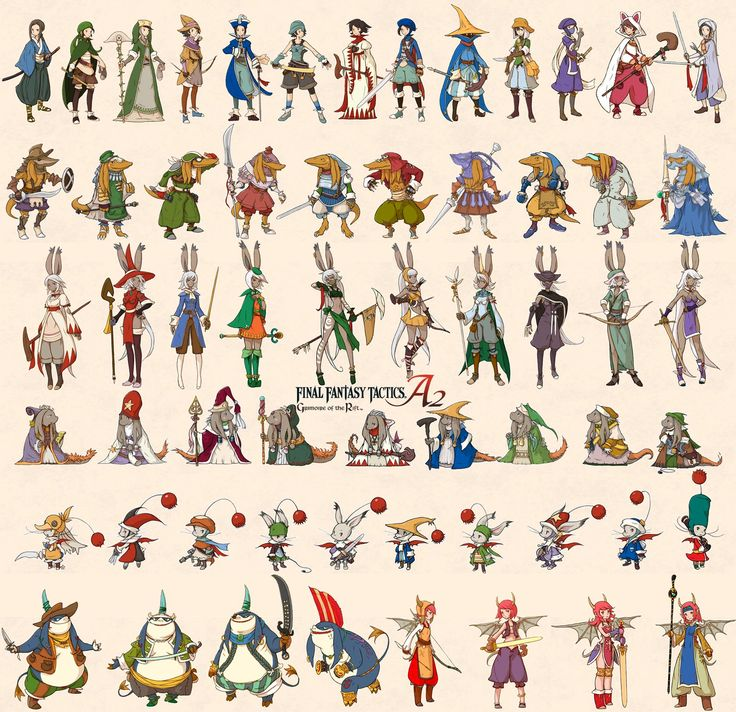 Top 10 Character Design Books : Best images about final fantasy on pinterest magic