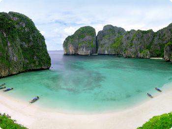 Maya Bay   Koh PhiPhi, Thailand..  Heaven on Earth!