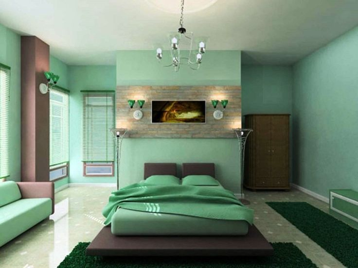 mint green bedroom design ideas to inspire you zen master bedroom design idea with mint green wall paint color and natural grass carpet along with unique - Cool Bedroom Design Ideas