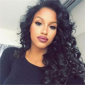 360 Lace Wigs Loose Wave Full Lace Wig for Black Women Human Hair Wigs CMWG005