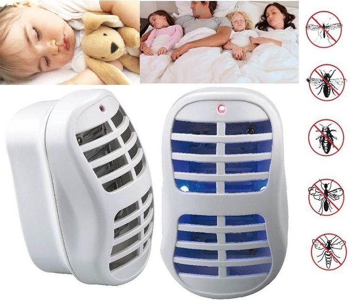 Уничтожитель  насекомых киллер. Надежно защитит вашу комнату от летающих насекомых. москитов, комаров, мошек, ос. Безопасна в использовании, может использоваться как ночник. Минимальное потребление электроэнергии.