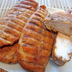 You're in for a great meal with this recipe! These tasty and tender slow smoked chicken breasts are perfect for either an entree for dinner, sliced up for sandwiches, or chopped up for a delicious ...