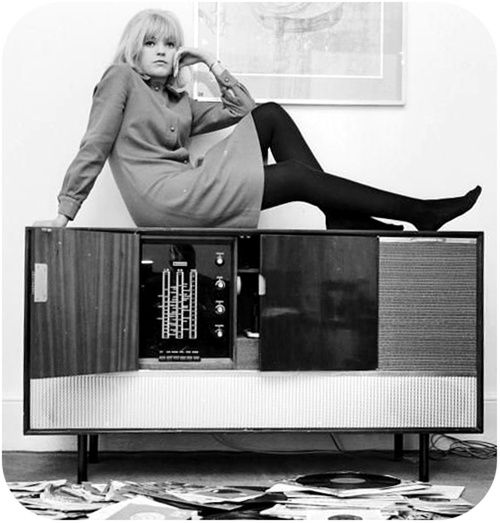 Sixties | Radio and TV broadcaster, Annie Nightingale, 1964