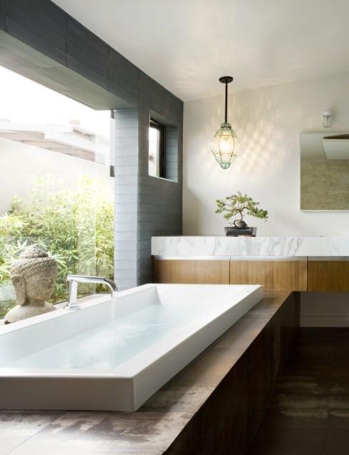 materials, marble wood combo bathroom renovation