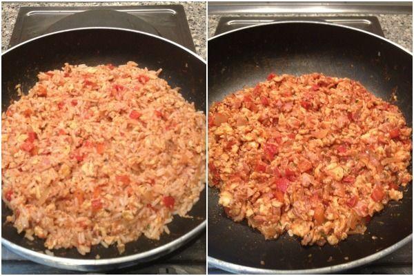 We hebben vandaag weer een lekker en snel recept, namelijk: een rijstgerecht met ei, paprika en tomatenpuree. We hebben dit lekkere recept van Anna-Lisa gekregen. Heb jij ook een lekker en simpel gerecht?Stuur je recept (met foto) dan naar info@lekkerensimpel.com of stuur je recepthierin. Bereidingstijd: 25 minuten Recept voor 2-3 personen Benodigdheden: olijfolie 1 ui …