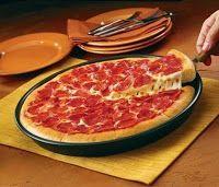 Massa de Pizza Pan (Pizza Hut) - Máquina de Pão