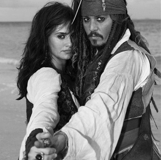 Johnny Depp et Penelope Cruz