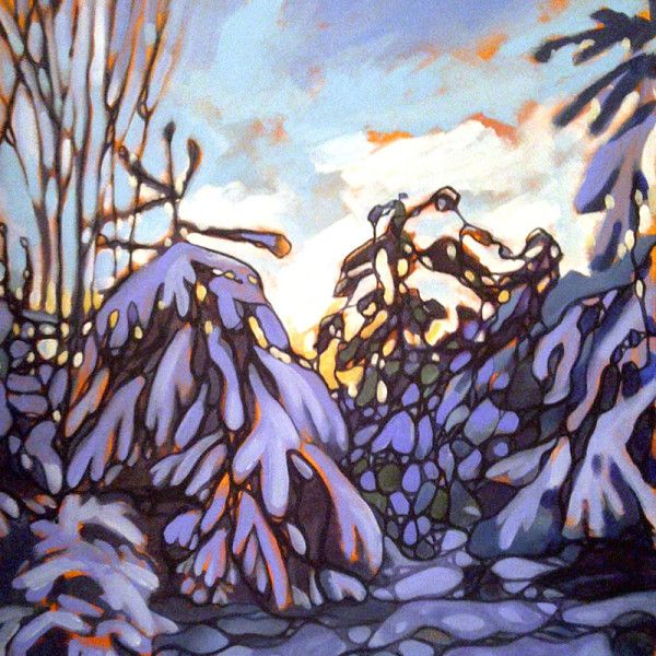 Painting by Nancy L Moore