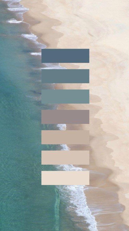 Farbkonzept Blau Grau