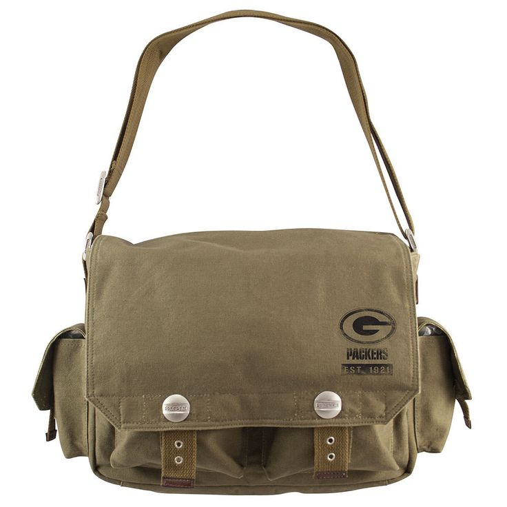 Green Bay Packers NFL Prospect Deluxe Messenger Bag