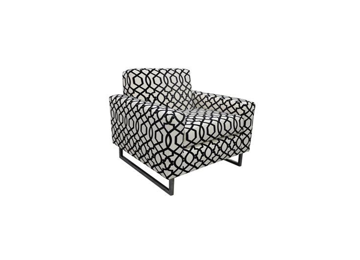 Chairs | Moss Studio Living Room Arm Chair Different Fabric And Chrome Leg  Finish
