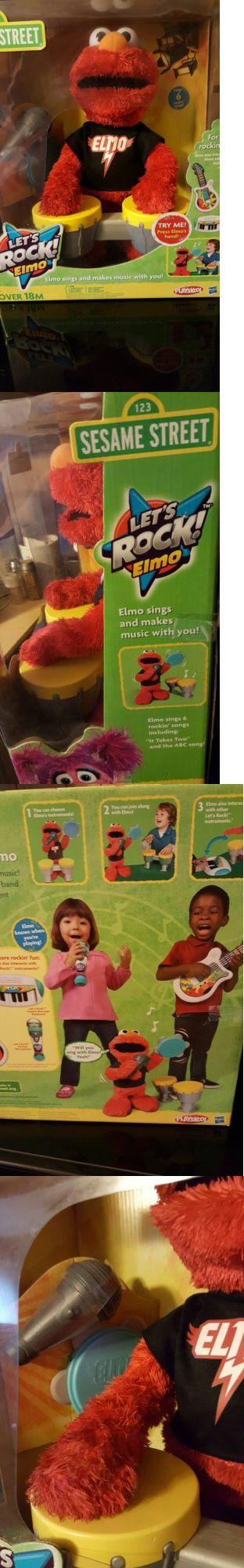 Muppets Sesame Street 2627: Sesame Street Let S Rock Elmo Sings 6 Rockin Songs Nib -> BUY IT NOW ONLY: $95.99 on eBay!