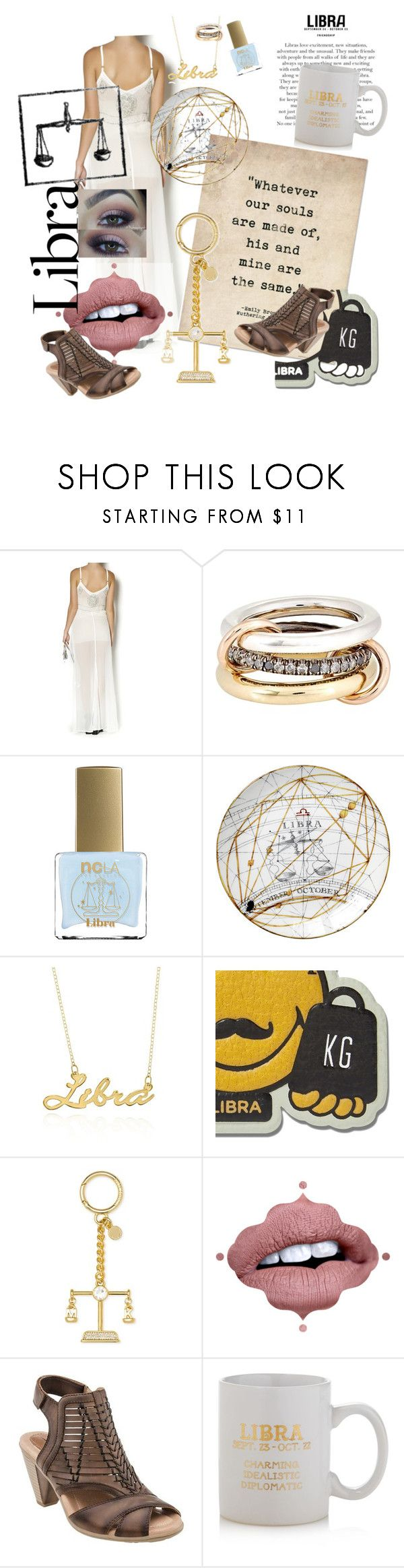 """Libra 4 Life"" by ericjen8685 ❤ liked on Polyvore featuring SPINELLI KILCOLLIN, ncLA, Belk & Co., Anya Hindmarch, Michael Kors, Earth and Sparrow & Wren"