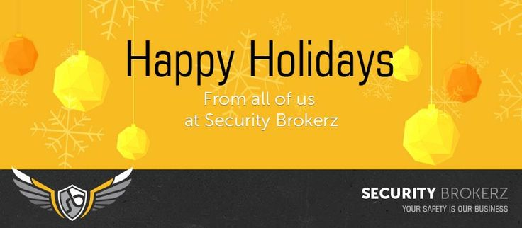 SECURITY BROKERZ Top 10 Security Secrets Over the Silly Season…
