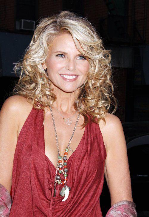 See Celebrities Wearing Her: Christie Brinkley See Through