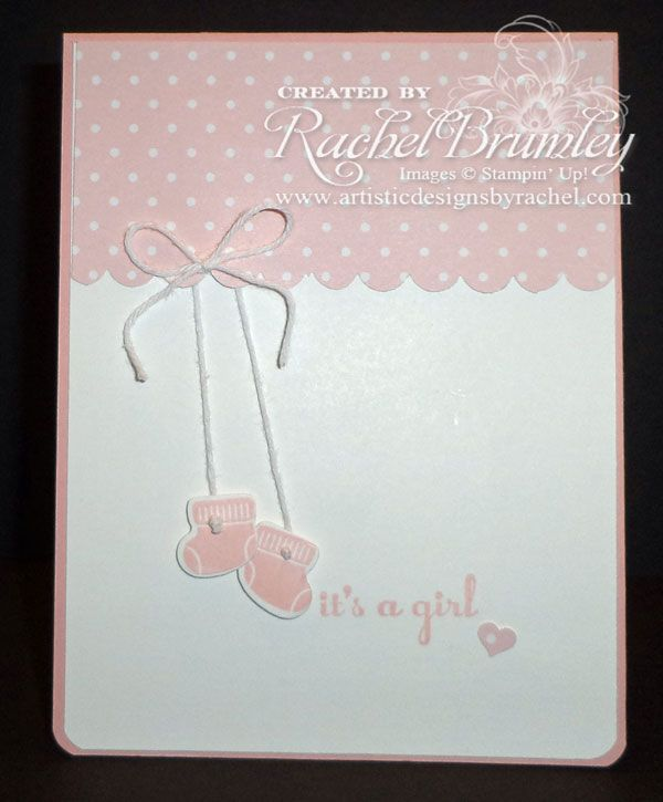 Something For Baby - Stampin' Up! A Dozen Thoughts