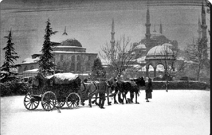 Sultanahmet - 1929 Kışı