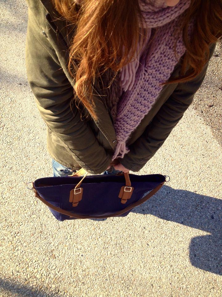 FAME Navyblue bag