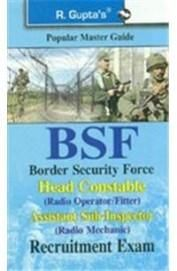 Popular Master Guide Border Security Force Bsf Head Constable Radio Operator Recruitment Exam (Paper Back)