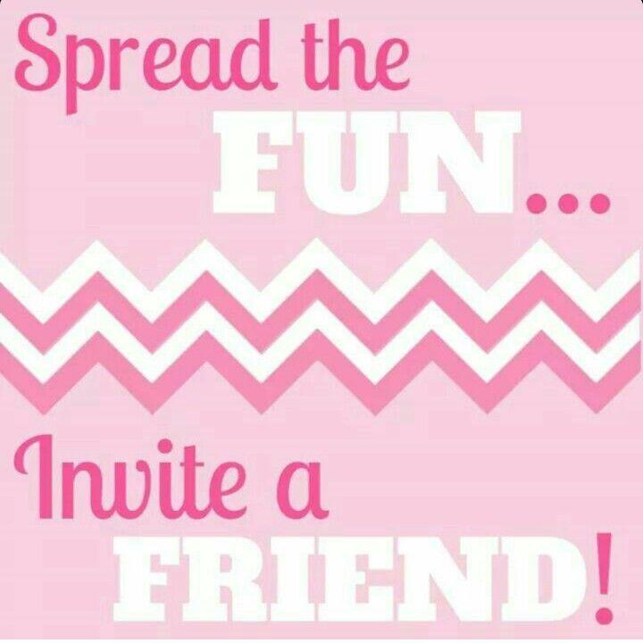 You re invited pure romance newsinvitation spread the fun invite a friend stopboris Images