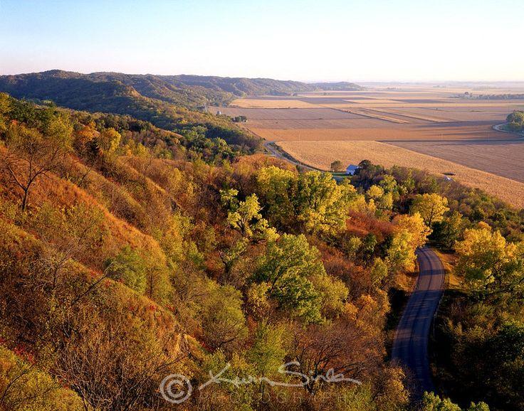 Loess Hills near Sioux City, Iowa