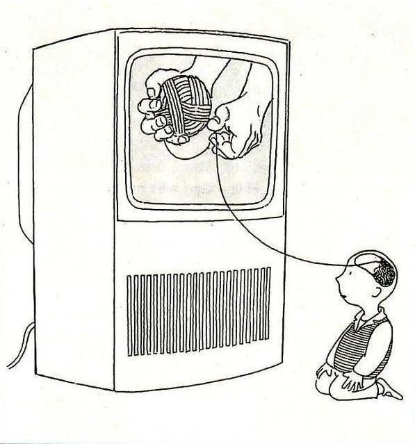Don't let the TV unravel your brain!