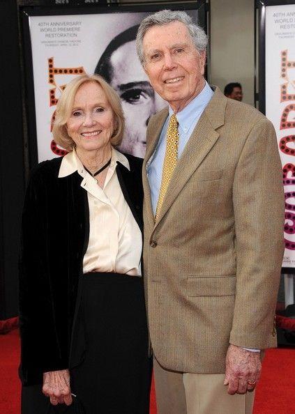 Eva Marie Saint and husband Jeffrey Hayden. Married since 1951, 2 children