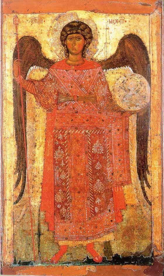 Архангел Михаил.Ярославль. Около 1300 года.