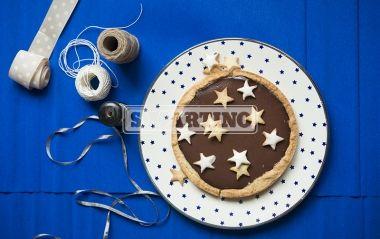 Crostata stellata  Chocolate tart #crostata #cioccolato #tart #chocolate #ilovesanmartino