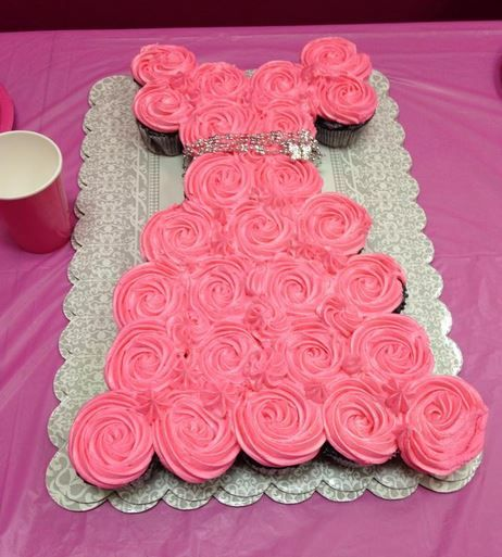 17 Best Ideas About Princess Cupcake Cakes On Pinterest