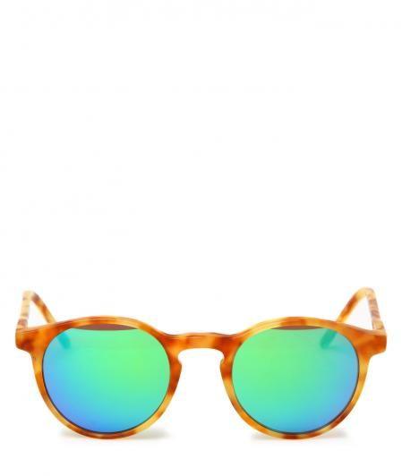 OCCHIALI DA SOLE MODELLO MIKI TARTARUGATI CON LENTI A SPECCHIO VERDE #sunglasses #fashiongblogger #kyme #playgroundshop #summer #springsummer #fashion #summerstyle