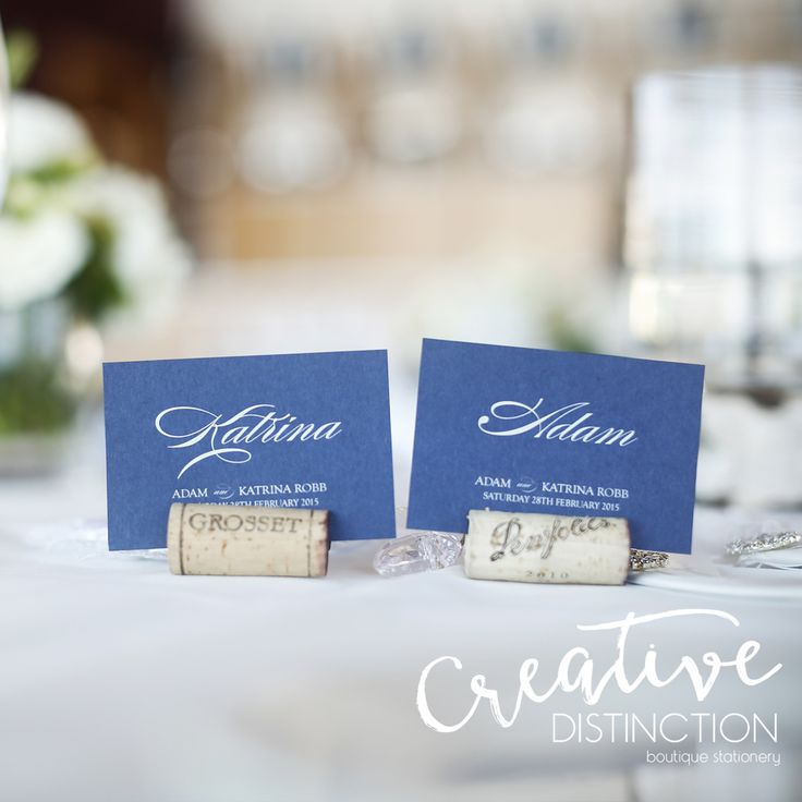 Some of our name tags on display at a stunning wedding! For all enquires please click on link in bio or contact us at info@creativedistinction.com.au