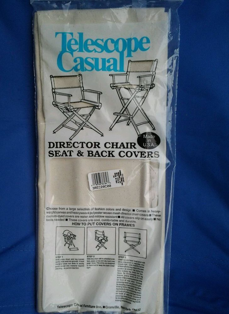 Telescope Casual Director S Chair Canvas Back And Seat