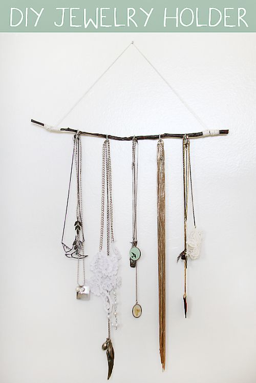 12 Simple And Practical DIY Jewelry Holders