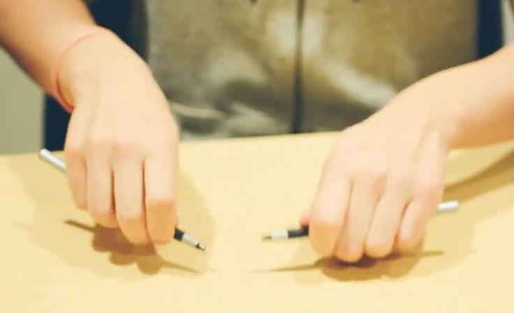Intohimoisen muusikon Shane Bangin videot ovat nousseet nettihitiksi. Hän soittaa uskomattomia kappaleita käyttämällä vain kyniä.