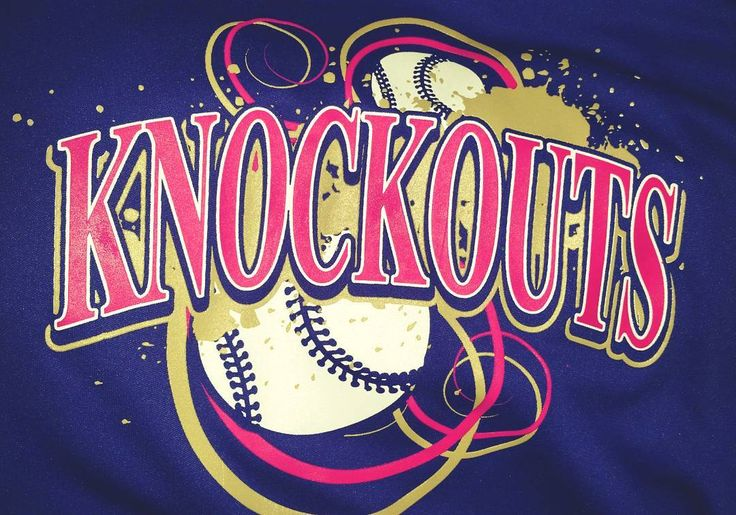 #softball #sportslogo #picoftheday featuring an #instacool #color combo..... #hotpink #vegas #gold and #white #screenprint on #purple because having #awesome #softballswag is what #itsallaboutbaby when it comes to #softballlife