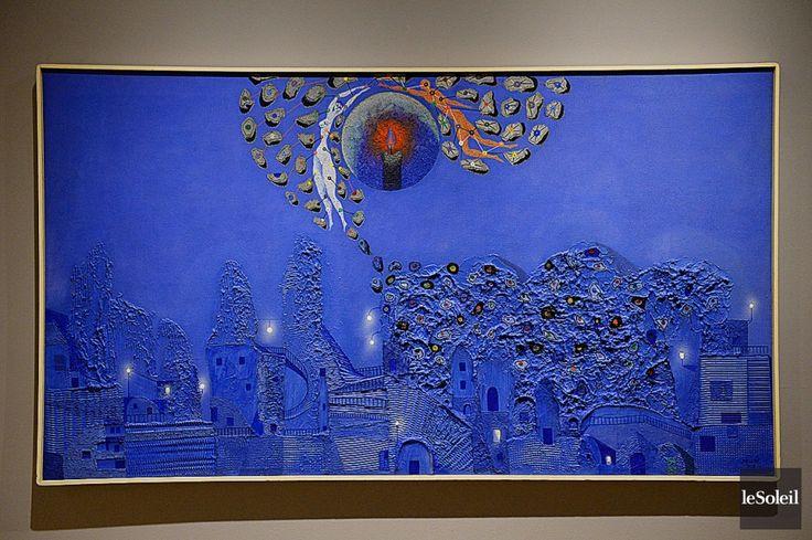 Alfred Pellan Jardin Bleu Art Inspiration Drawings