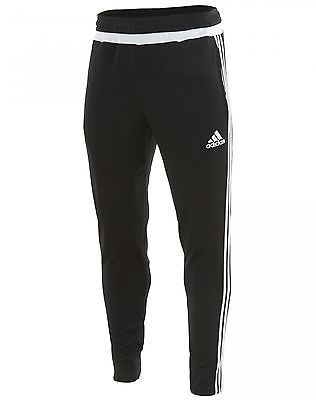 Adidas Soccer Tiro 15 Training Pants Mens M64032 Black Athletic Apparel Size 2XL
