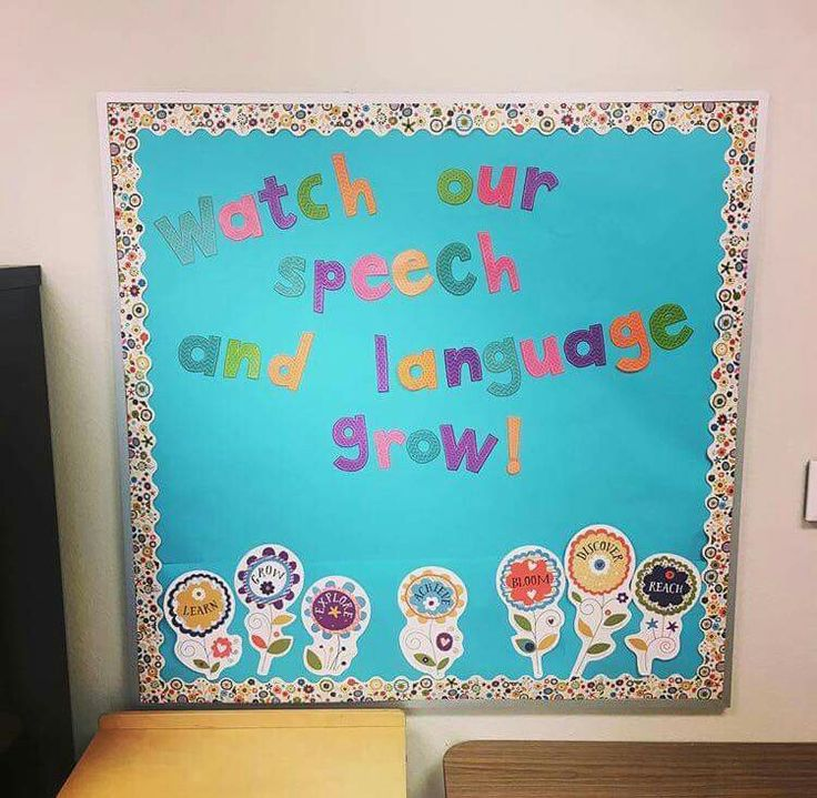 Speech Language Classroom Decorations ~ Best slp bulletin board and decorating ideas images