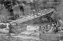 15/04/1912 : naufrage du Titanic.