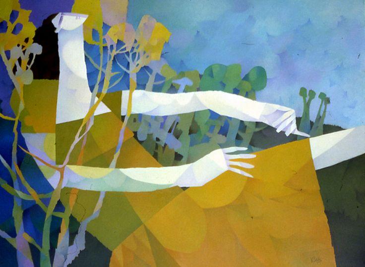 Gambade en nature by Claude Le Sauteur
