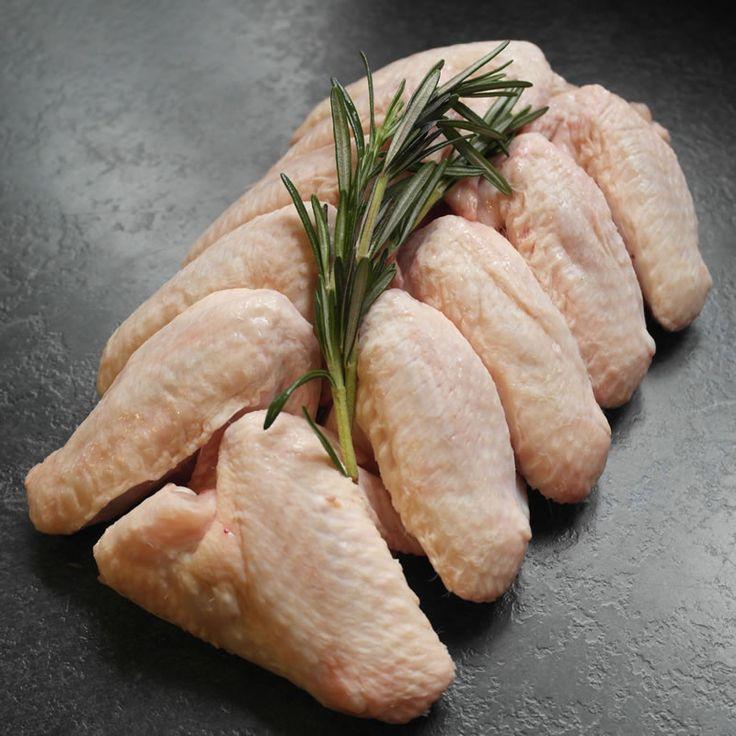 Free range, herb fed Chicken wings