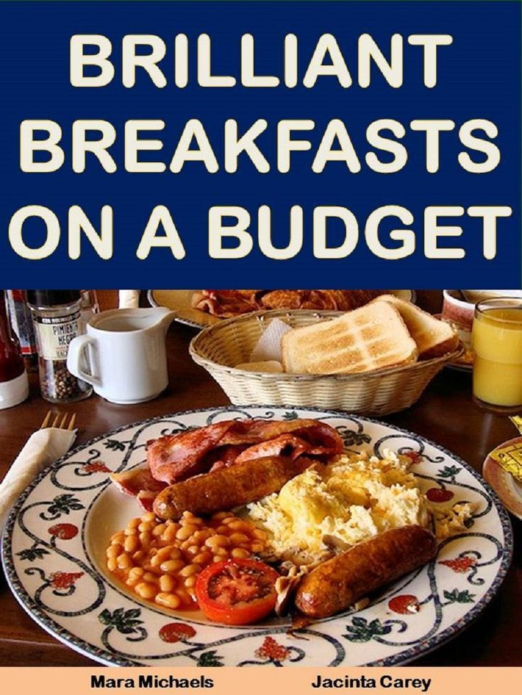 Get some inspiration for breakfast. http://www.amazon.com/Brilliant-Breakfasts-Budget-Better-Guides-ebook/dp/B007QOBZRU