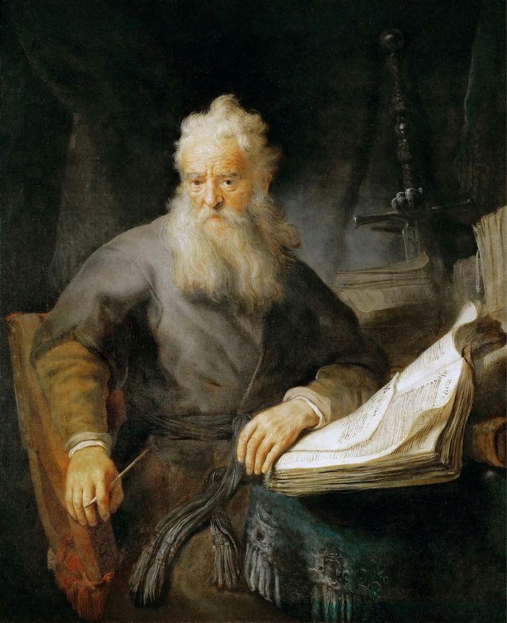Евангелист Лука в книге « Деяния » описывает обращение апостола Павла (Шауля): Харменс ван Рейн Рембрандт (1606-1669) ~ Апостол Павел « Савл по-прежнему кипел ненавистью, желая смерти ученикам Господа. Он пришел к первосвященнику и попросил у него письма к синагогам Дамаска, чтобы он мог бы…