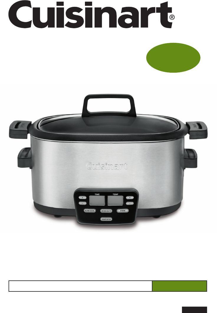 Instrukcja Cuisinart MSC-600 - Urządzenie do gotowania ryżu