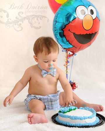 Boys Cake Smash Outfit: Diaper Cover and Bow Tie, First Birthday, Photo Shoot. $35.00, via Etsy.