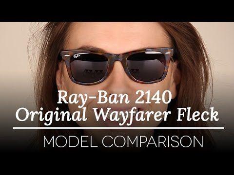 cheap ray ban sunglasses review  ray ban 2140 original wayfarer fleck ray ban sunglasses model review youtube