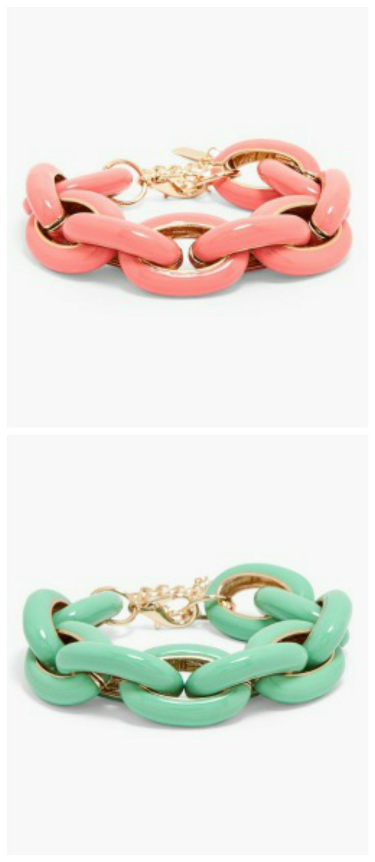 Spring must-have! Mint and coral