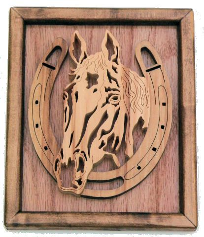 Western Scroll Saw Patterns | Horse Scroll Saw Patterns
